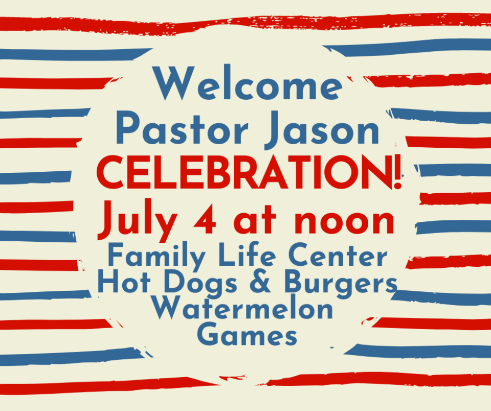 Pastor Jason Smith's Welcome Party