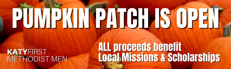 pumpkin patch is open